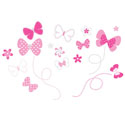 Decor Element - Flitting By Butterfly