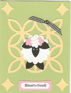 Lattice Sheep Card 001