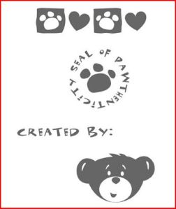 Seal of Pawthenticity stamp set