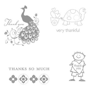 Very Thankful - Ronald McDonald Stamp Set