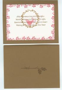 Berry Christmas interior and back - Cheryl's SAS card 001