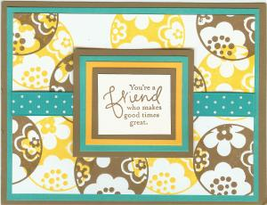 Stampin' Up! 2009 Convention Swap - Created by Denise Lipps