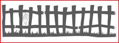 Frightful Fence Jumbo Wheel