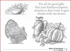 Gifts of the Earth Stamp Images