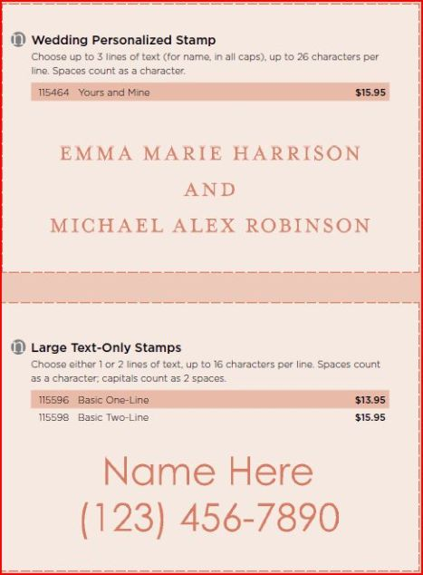 Personalized Stamps 4