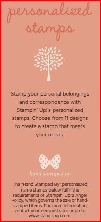 Personalized Stamps explanation