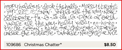 Christmas Chatter Wheel image