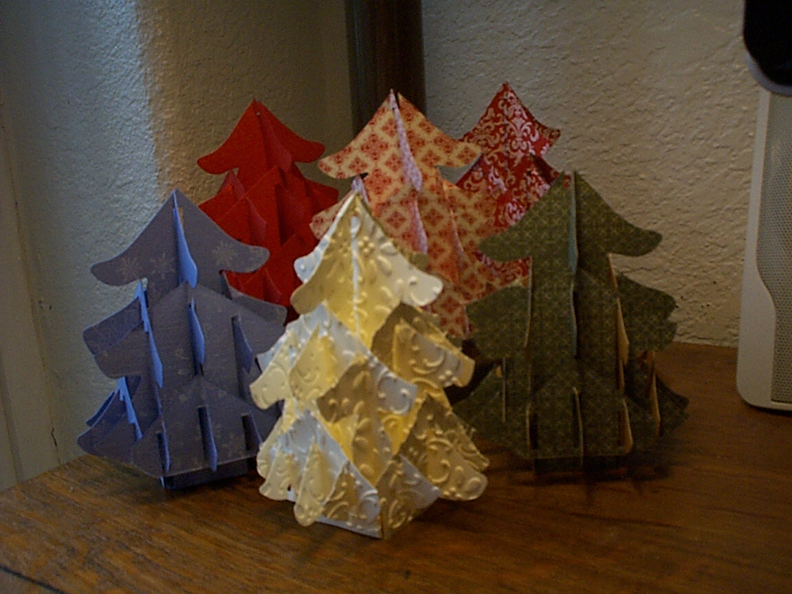 O Christmas Tree Pop Up Die: Create A Forest Of Your Own