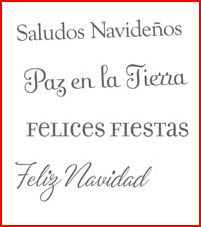 Four the Holidays - Spanish