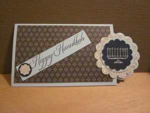 Two Tags Gift Card Holderall images and die cuts copyright Stampin' Up