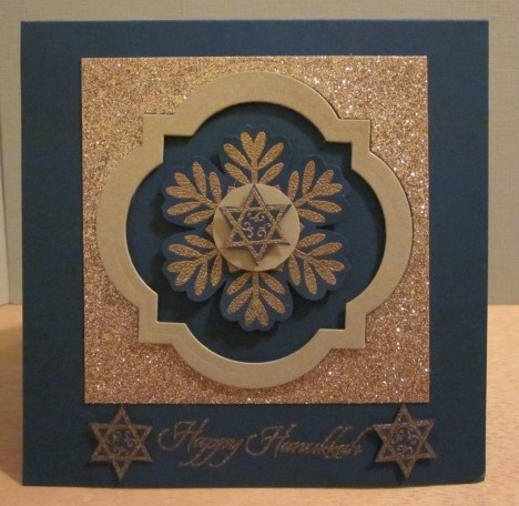 Hanukkah Snowflake Window