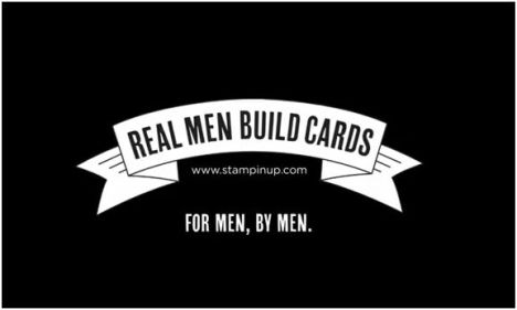 Real Men Build Cards logo graphic