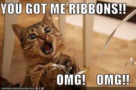 catribbon - you got me ribbons - OMG