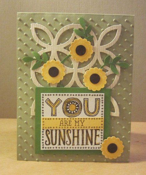 You Are My Sunshine - Pear Pizzazz