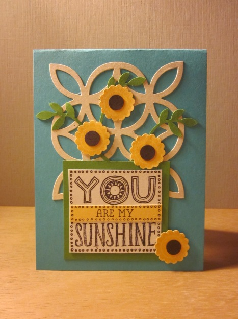 You Are My Sunshine - Turquoise