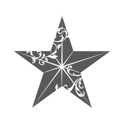 Christmas Star - single stamp image