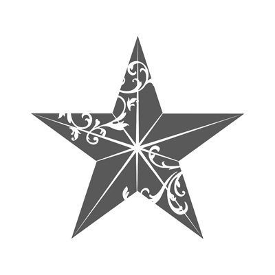 Christmas Star - single stamp image