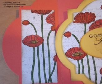 Poppy Left detail - watermarked