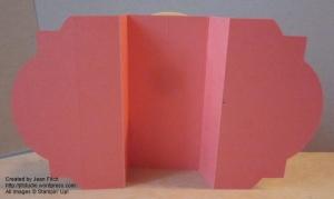 Poppy Window Layerd Card backside - watermarked