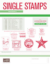 Single Stamps flyer image - Holiday