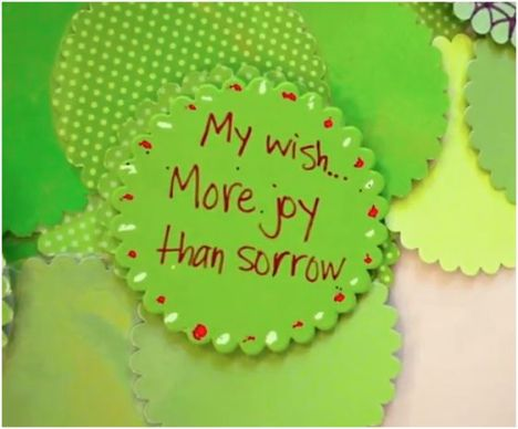 Stampin Up's wish on the wishing tree