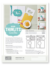 Thinlit flyer image