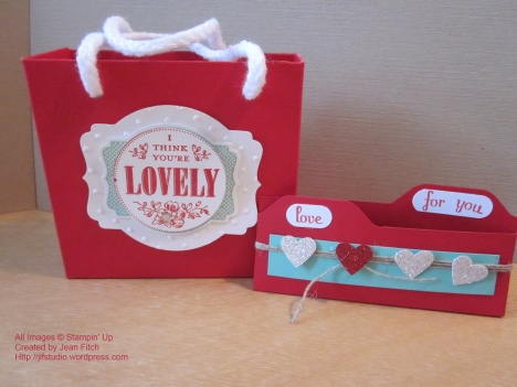 You're Lovely Bag & Chocolate File Folder - watermarked