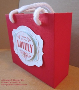 You're Lovely Bag Side View - watermarked
