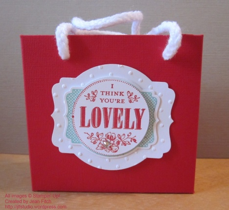 You're Lovely Bag - watermarked