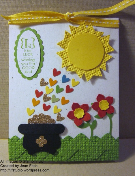 Lucky Day Card - March 2014 Stamp Camp - watermarked