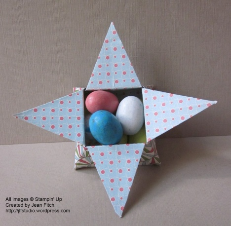 Origami Star Box - Everyday Enchantment Designer Series Paper
