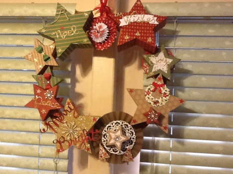 Patti's Star Wreath 1