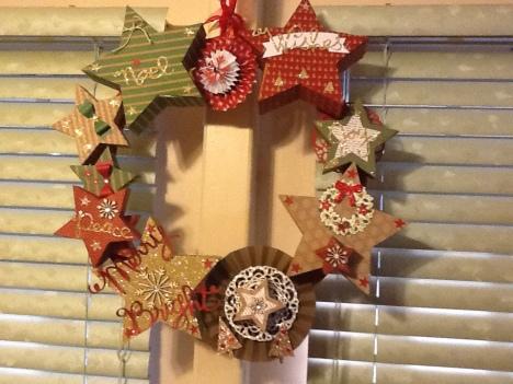 Patti's Star Wreath 1
