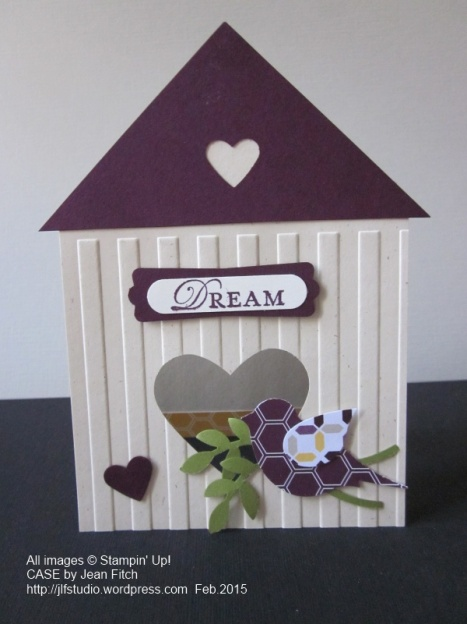 Birdhouse Dreams - CASE by Jean Fitch of Jackie Topa
