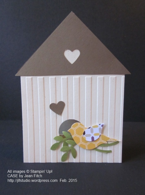 Moonlight Birdhouse - a CASE by Jean Fitch of a Jackie Topa original