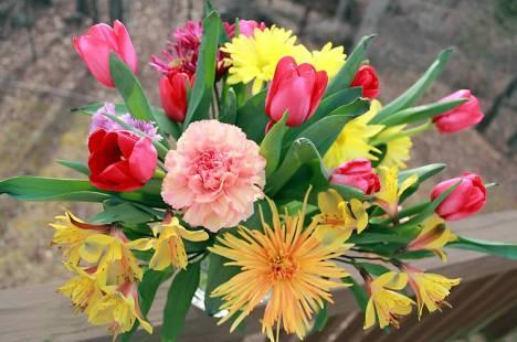 WCC 23 - Watercooler Challenge - Marsha's Mothers Day Flowers