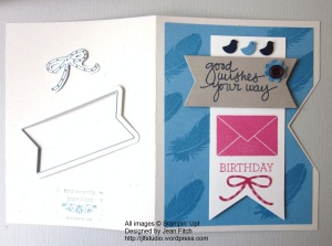 WCC24 - Red Letter Day - Triple Banner Punch indent detail - watermarked