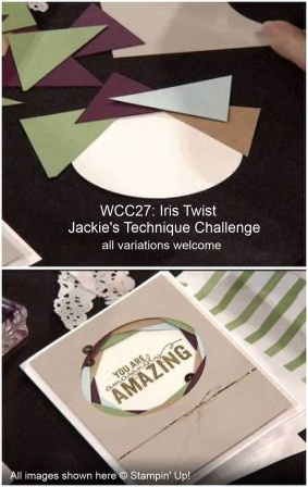WCC27 - Twisted Iris - Jackie's Technique Challenge for the Watercooler Challenge