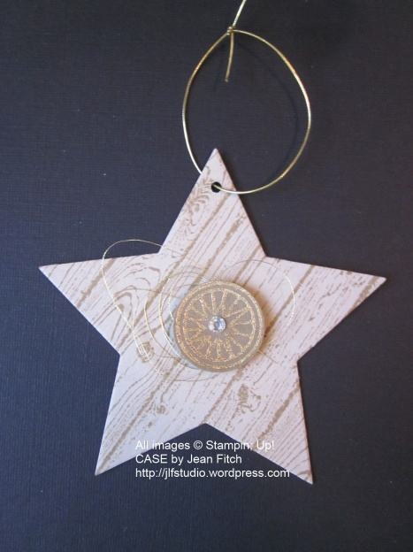 Gentle Peace Star Ornament - Jean Fitch