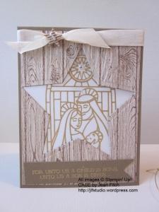 Gentle Peace Star Filled Window Luminaria - Jean Fitch