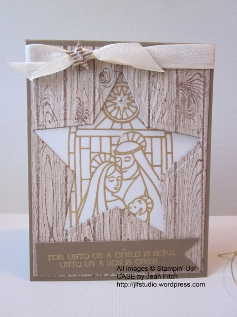 Gentle Peace Star Filled Window Luminaria - Jean Fitch