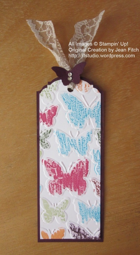 Marker Watercolor Wash Bookmark - Jean Fitch