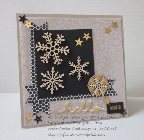 Hello Winter - WCC31 - Heidi's Sketch Challenge - Jean Fitch using several new Holiday Catalog items.
