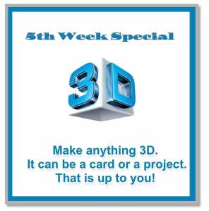 3D challenge 5th week special