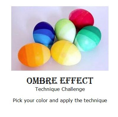 WWC34 - Jean's Ombre Effect Technique Color Challenge
