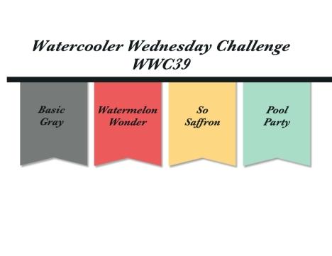 Watercooler Wednesday WWC39 - Susan's Color Challenge