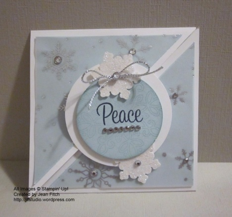 WWC37 - Jackie's Sketch Challenge - Peaceful Snowflake 1 - Jean Fitch