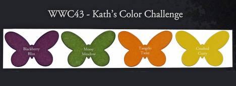 Watercooler Wednesday Challenge - WWC43 - Kath's color challenge