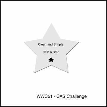 Watercooler Wednesday Challenge - WWC51 - CAS with Stars