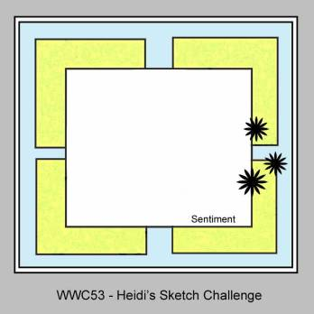 Watercooler Wednesday Challenge - WWC53 - Heidi's Sketch Challenge - Jean's Balloons Aloft